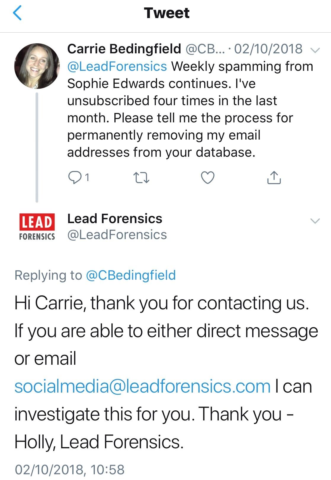 2018-10-02-Lead-Forensics-Complaint