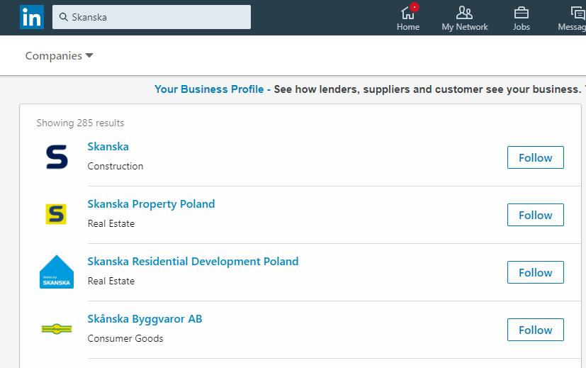 linkedin-companies-view