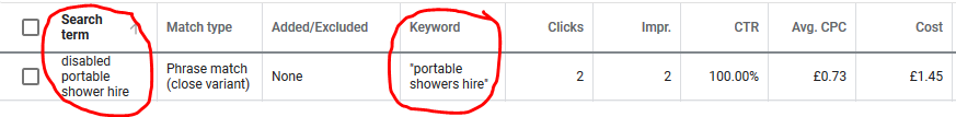 Google Ads Search Terms 101 step 8