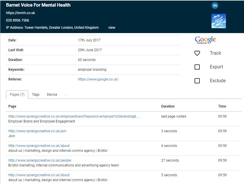 See Google Adwords Keywords in Analytics